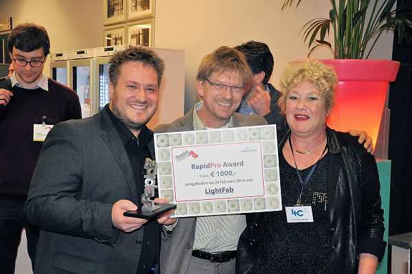 Arburg en 3D Innovationlab genomineerd voor Rapidpro Award