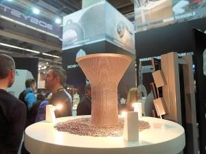 3D Systems ziet de vraag naar 3D metaalprinters explosief groeien. Op de foto een metalen component, vervaardigd door Layerwise dat vorig jaar door de Amerikanen is overgenomen.