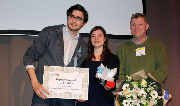 3D Innovationlab wint Rapidpro Award 2015