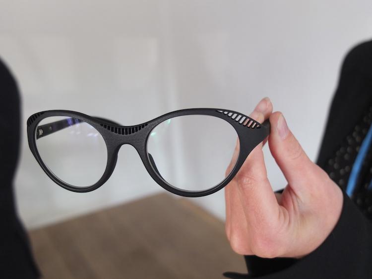 Bieke Hoet en Materialise lanceren 3D geprinte bril