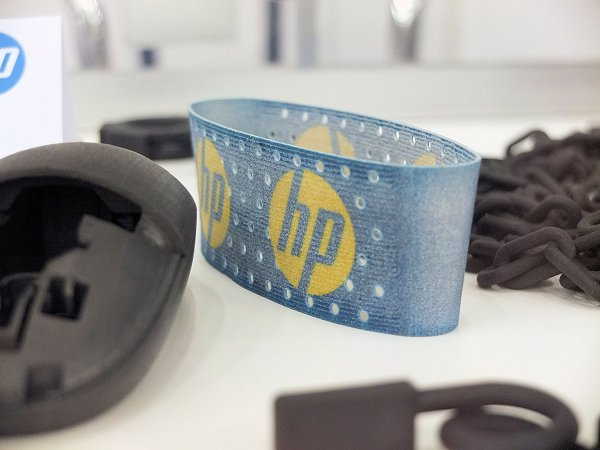 De eerste printdelen van HP.