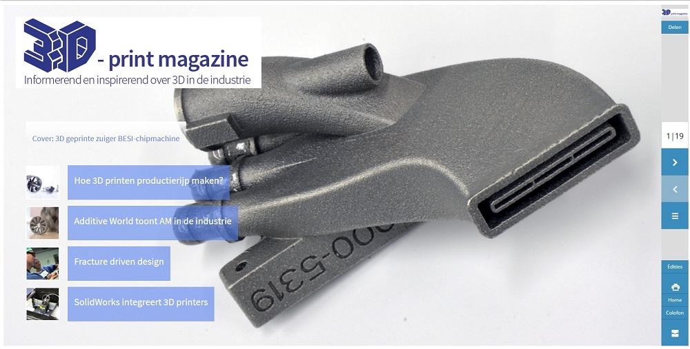 3D Print magazine april 2016