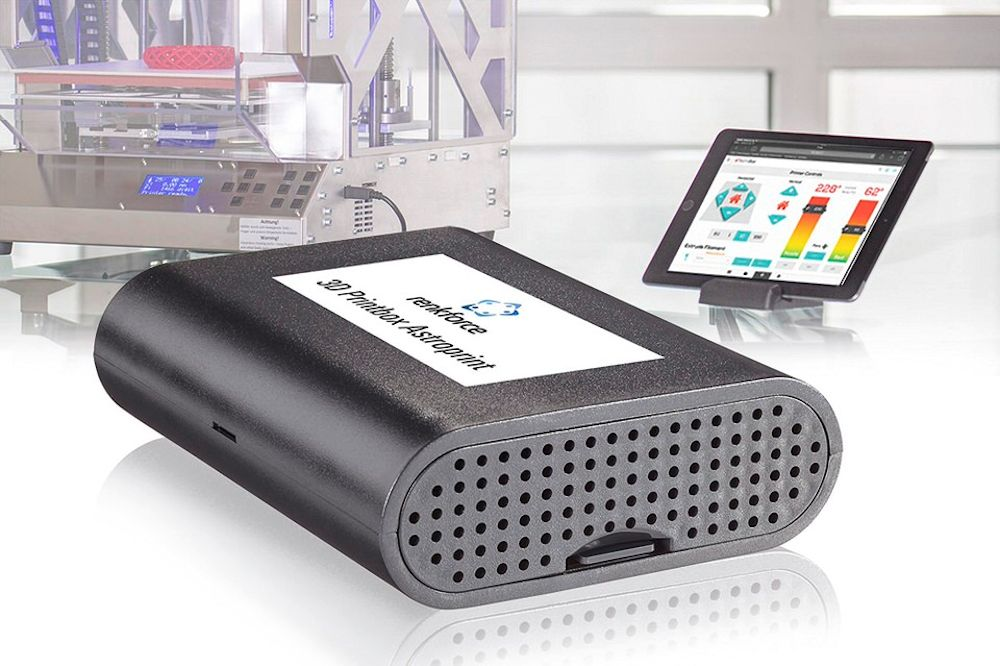 Conrad RF2000: dual extruder 3D printer en 3D Printbox voor aansturing via de cloud