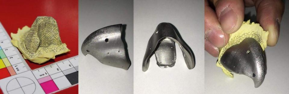 Blauwe Ara krijgt 3D geprinte titanium snavel