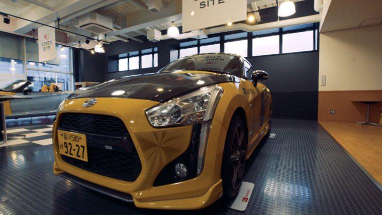Daihatsu laat kopers hun cabrio personaliseren met 3D printen