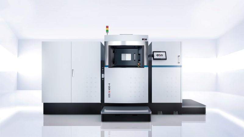 Première industriële 3D metaalprinter EOS M 400-4
