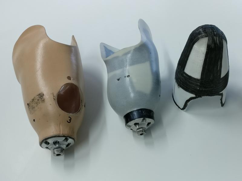 Saxion 3D print prothese van thermoplastisch composiet