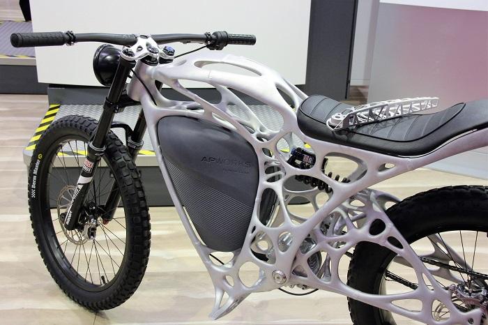 3D geprinte motorfiets