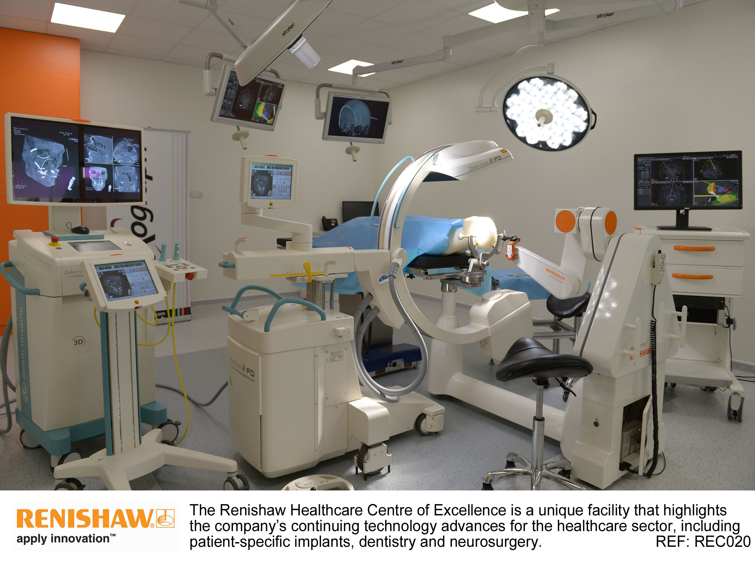 Renishaw: 3D metaalprinter in het ziekenhuis