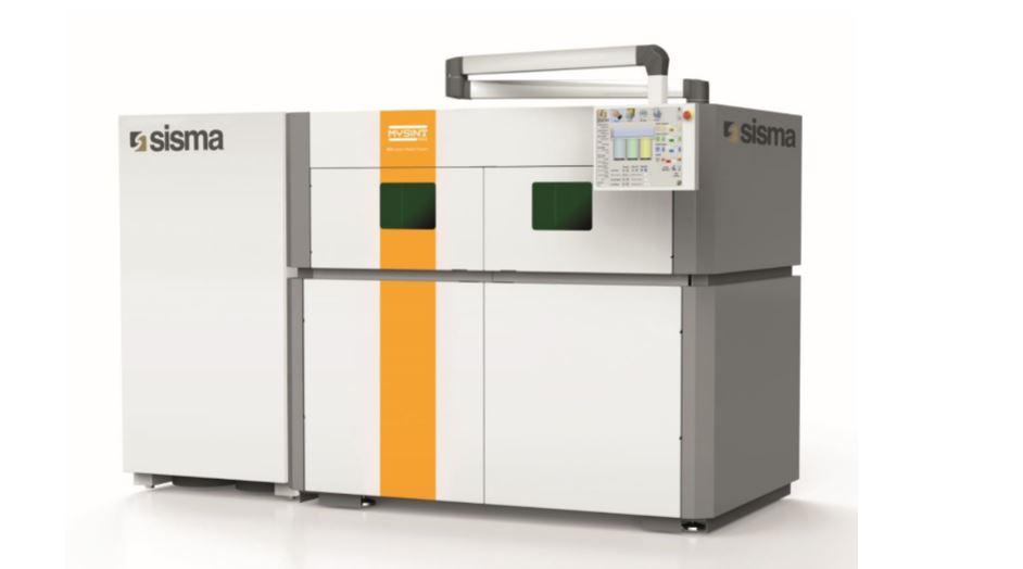 Sisma mysint300 ontwikkeld voor seriematig 3D metaalprinten