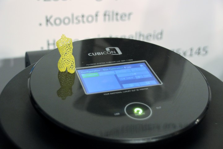 AMR Europe: Cubicon Lux betaalbare DLP printer