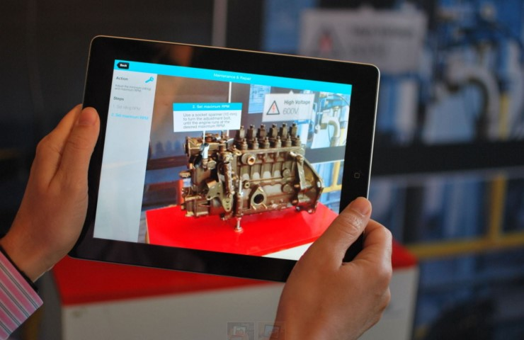 Twnkls op Virtual  Revolution: AR applicaties in de industrie
