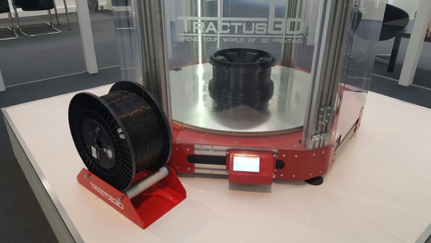 Innofil3D wordt preferred supplier van Tractus3D