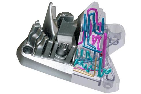 Koelcapaciteit matrijs factor 8 hoger door 3D printen