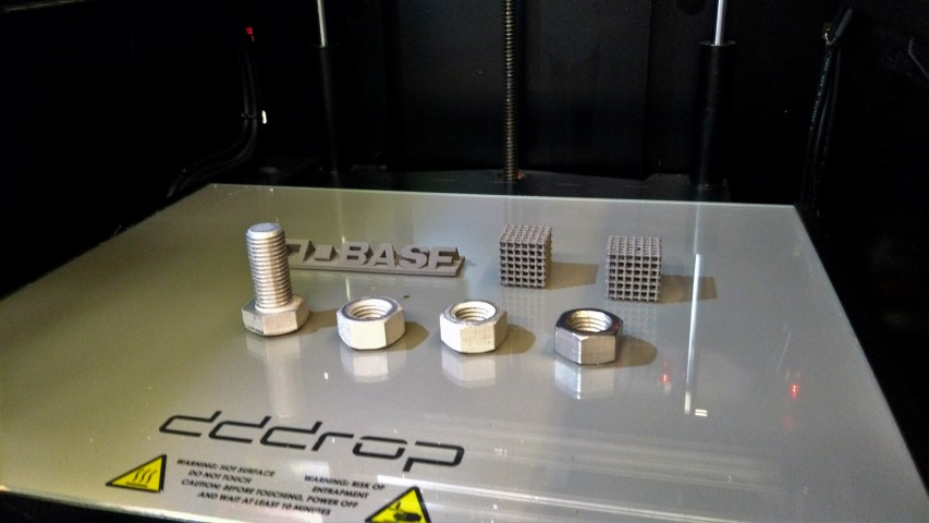 dddrop: goede resultaten metaalprinten met BASF filament