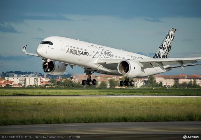 Airbus en Stratasys starten printing on demand voor A350 XWB