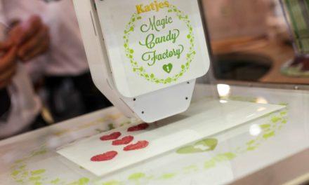 Eerste 3D snoep printer Magic Candy Factory in de Benelux