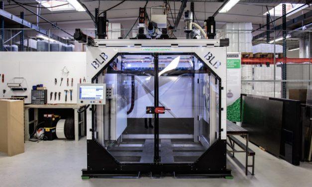 BLB Industries extrudeert granulaat direct in 3D printer