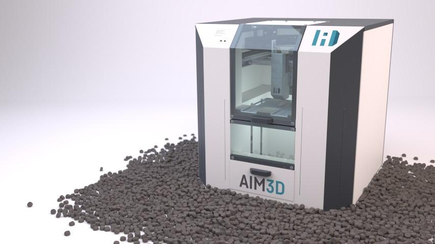 Maakt AIM3D met CEM technologie metaalprinten standaard als een freesbank?