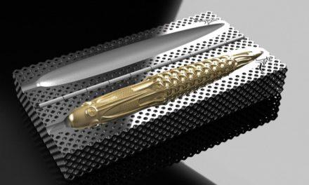 Pjotr Pens 3D print 18K gouden vulpen