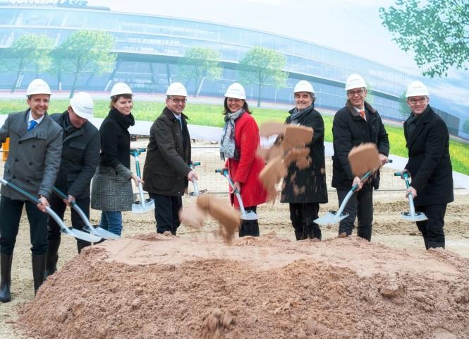 Concept Laser start nieuwbouw 3D campus
