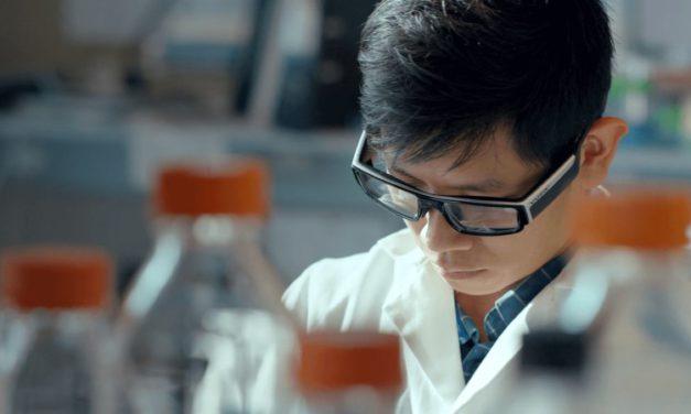 Luxexcel 3D print brillenglazen op sterkte voor Vuzix Blade AR bril