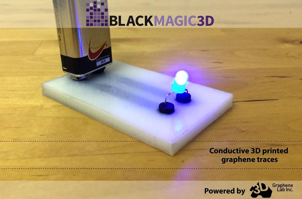 Grafeen 3D printen met desktop FDM printer