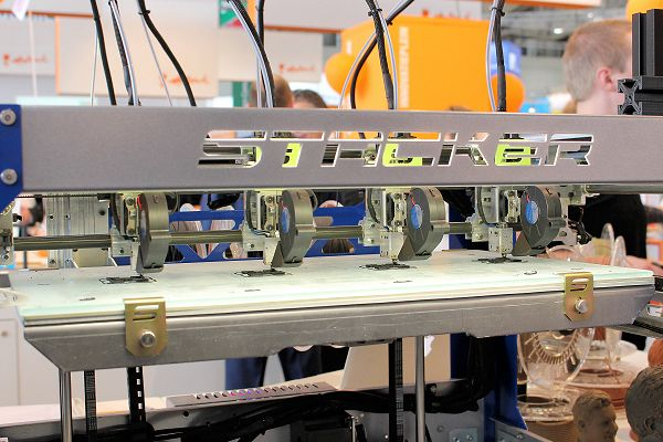 Colorfabb: Stacker 3D printer primeur in Hannover
