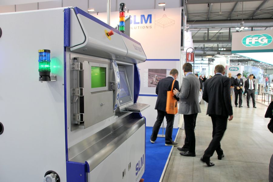 SLM Solutions ziet orderboek gestaag groeien