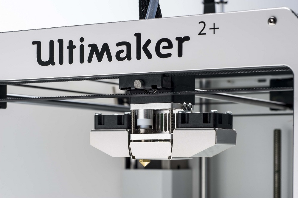 Photo of Ultimaker 2+ op Solidworks World 2016