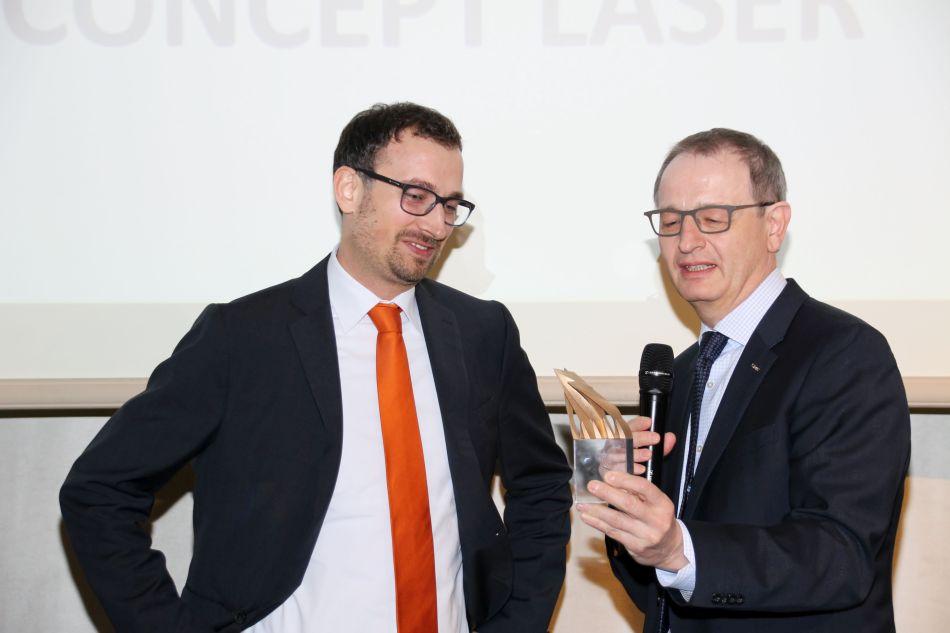 Concept Laser wint met QM Meltpool IAMA 2016