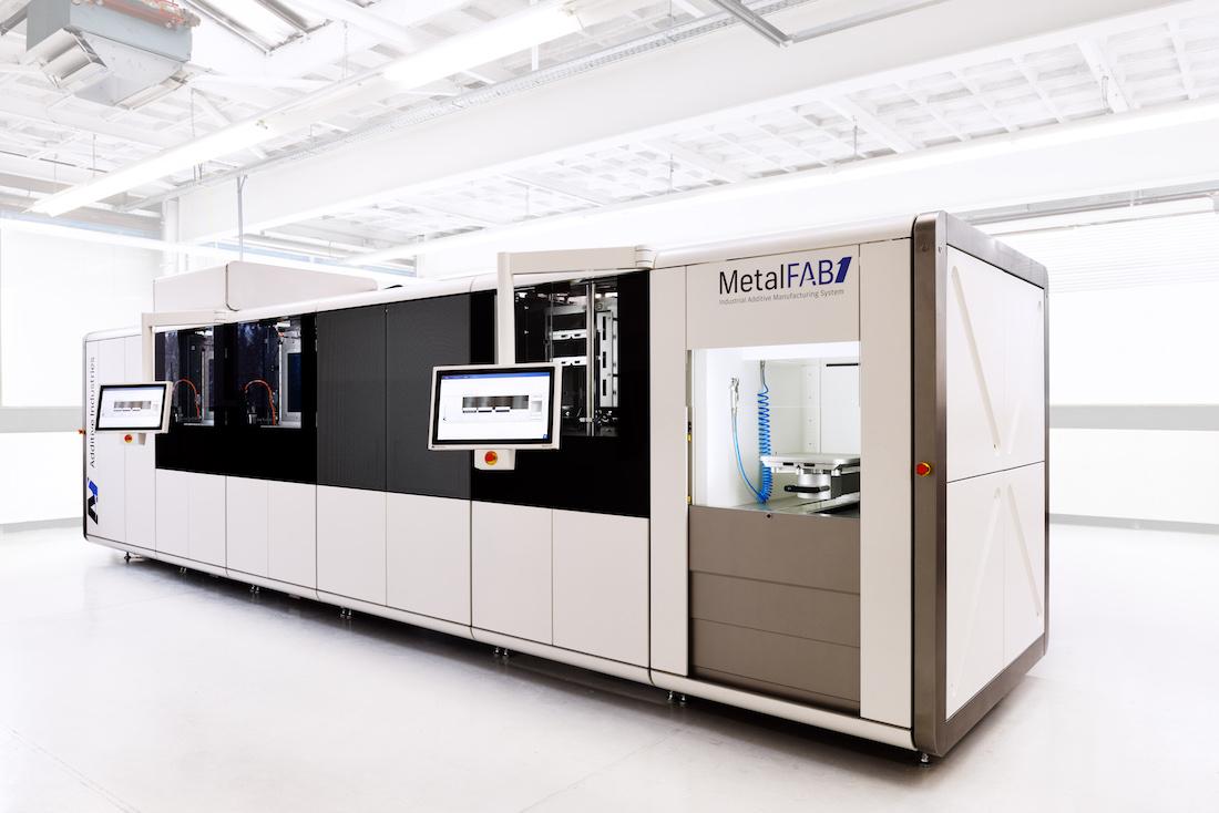 APWorks neemt Metalfab 1 in gebruik