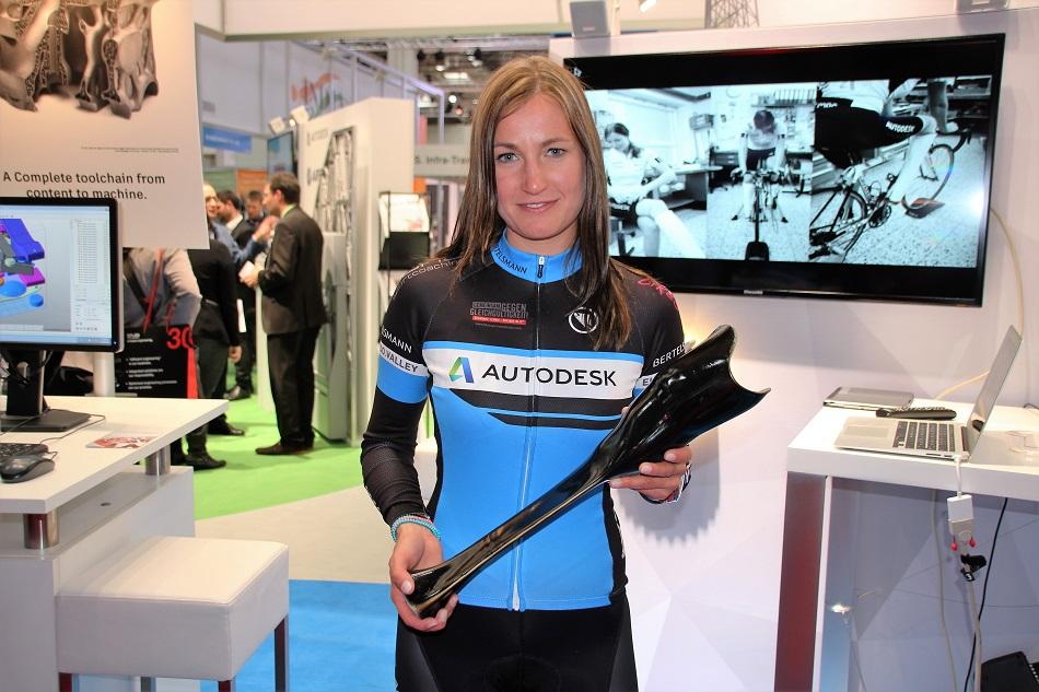Denise Schindler: 2 seconden tijdwinst dankzij 3D geprinte prothese