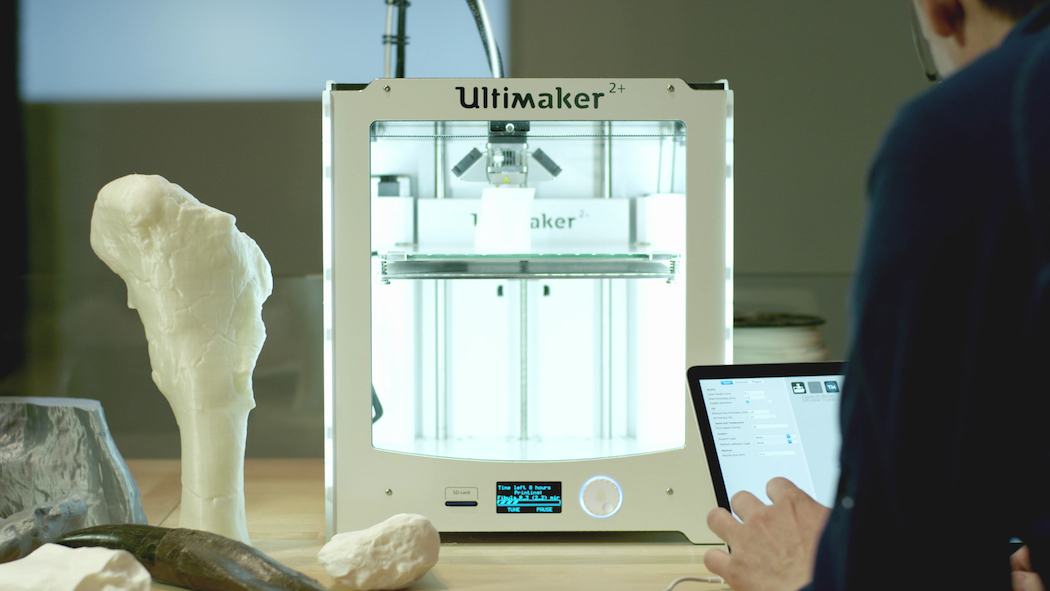 Ultimaker helpt Naturalis skelet T-rex reconstrueren