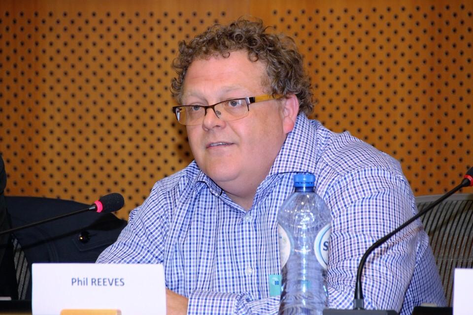 Phil Reeves is een van de panelleden in de discussie tijdens Additive Manufacturing Europe 2016.