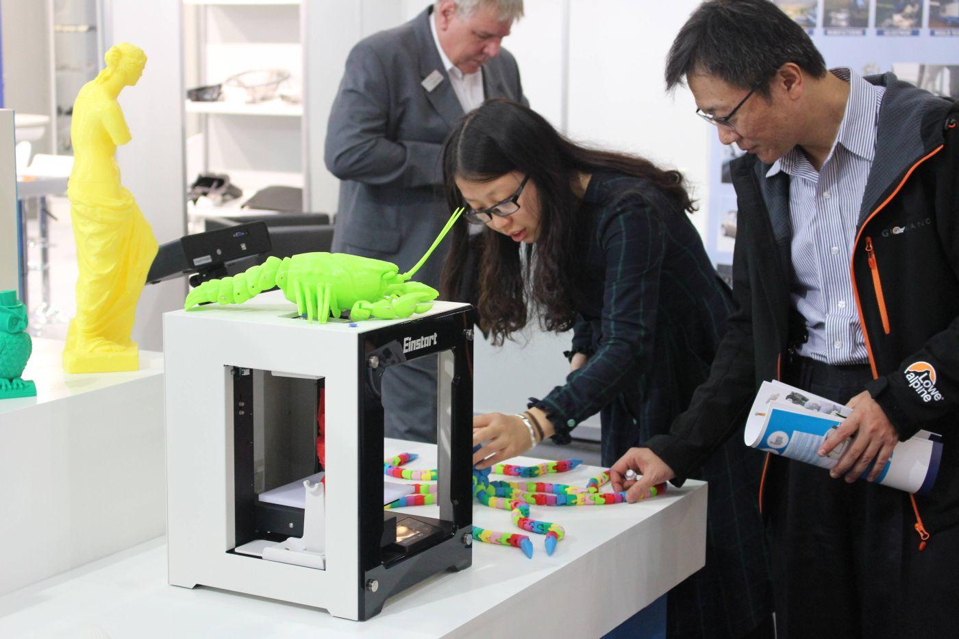 De extrusieprinters worden een massaprodict, vooral geproduceerd in Azië, voorspellen de analisten van IDTechEX.