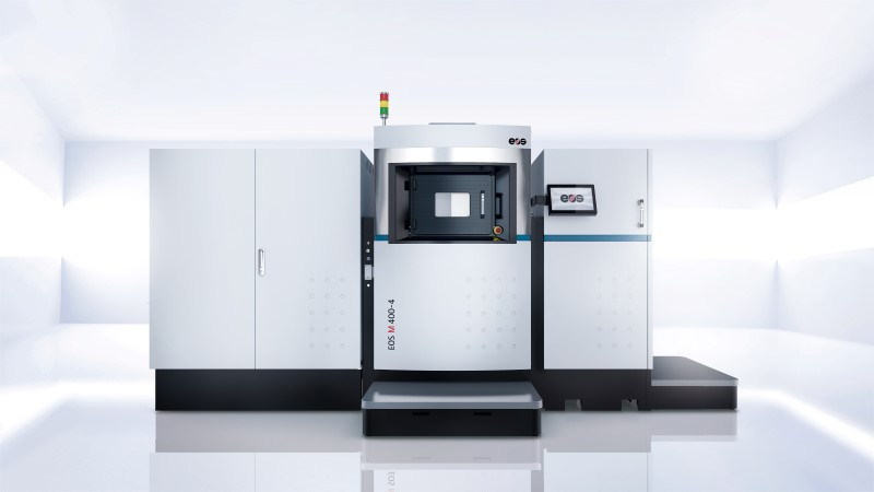 Photo of Première industriële 3D metaalprinter EOS M 400-4