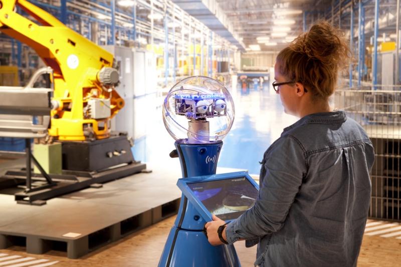 European Robotics Week: 3D print je zorgrobot