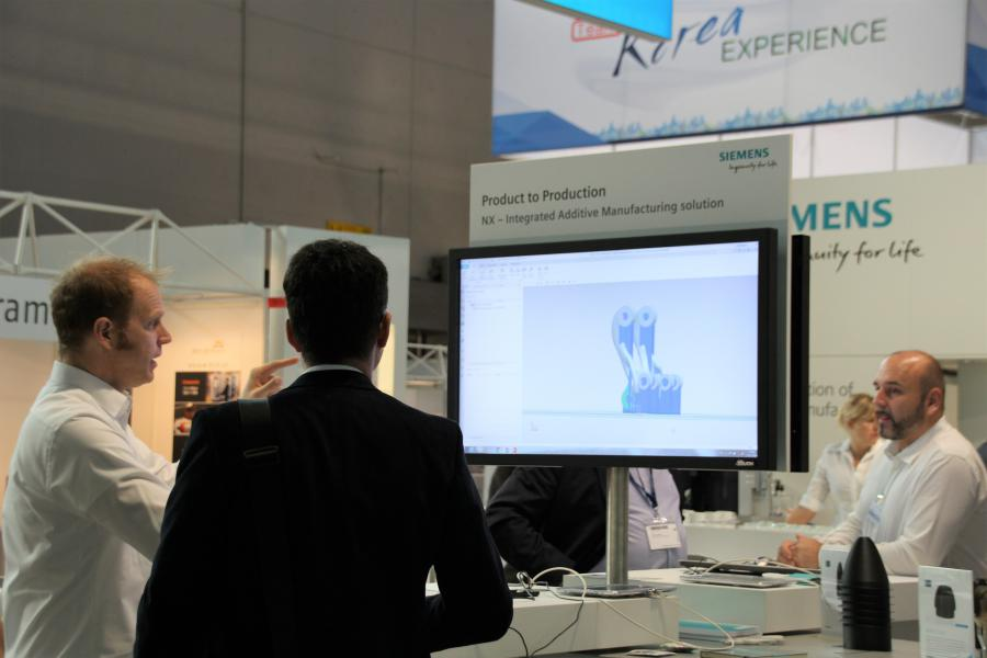 Siemens zet momenteel met NX sterk in op de industrialisatie van additive manufacturing, onder andere door de samenwerking met Trumpf.