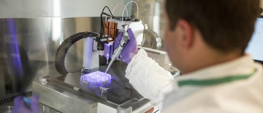Onderzoeksteam UM ontwikkelt bouwstenen voor 3D printen hart en nieren
