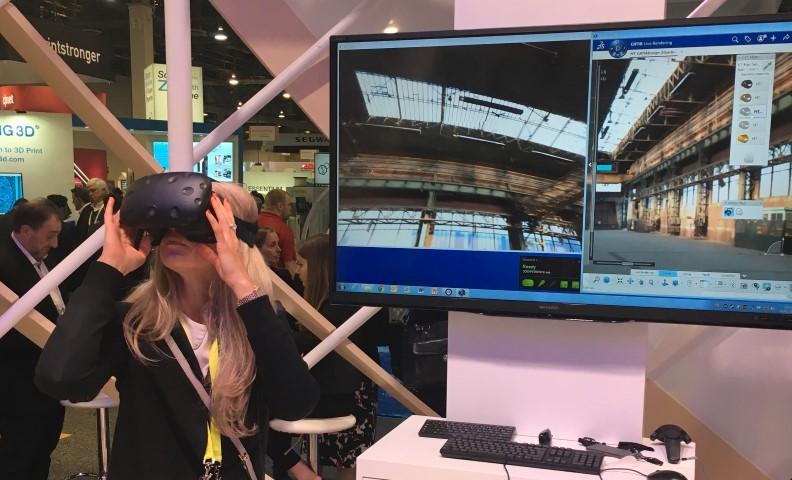 3DExperience platform ondersteunt HTC VR-bril