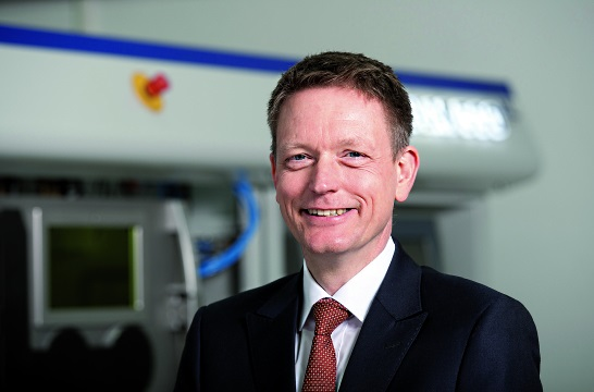 Photo of SLM Solutions zet topman Markus Rechlin aan de kant