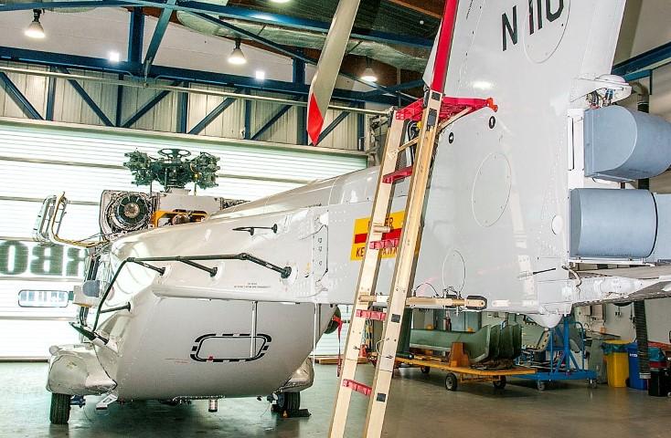 Luchtmacht vliegt met 3D geprint onderdeel NH90