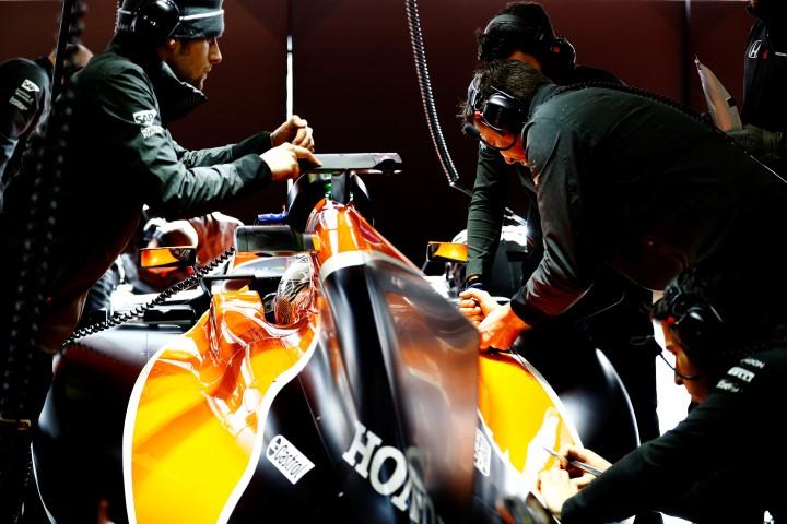 McLaren-Honda neemt 3D printer Stratasys mee naar racecircuit