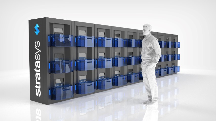 Stratasys Continuous Build 3D: schaalbaar 3D printconcept  volumeproductie