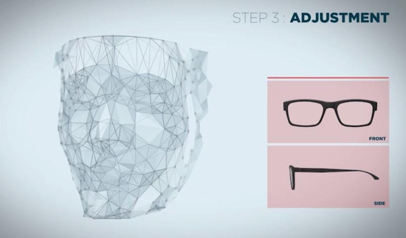 Roger Bacon: kapitaalsinjectie voor 3D geprinte brillen concept