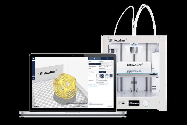 Naadloze integratie Solidworks en Siemens NX in Ultimaker Cura