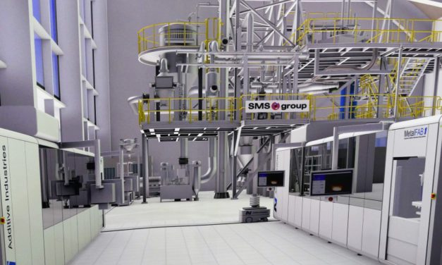 SMS Group verkent in Scale4series geïntegreerde AM fabriek