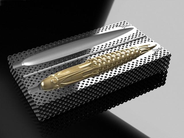 Photo of Pjotr Pens 3D print 18K gouden vulpen
