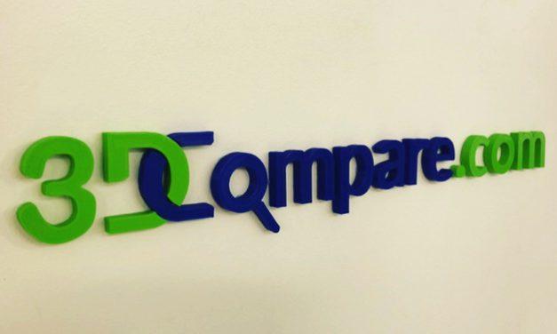 3DCompare: vergelijkingssite voor 3D printservicebureaus